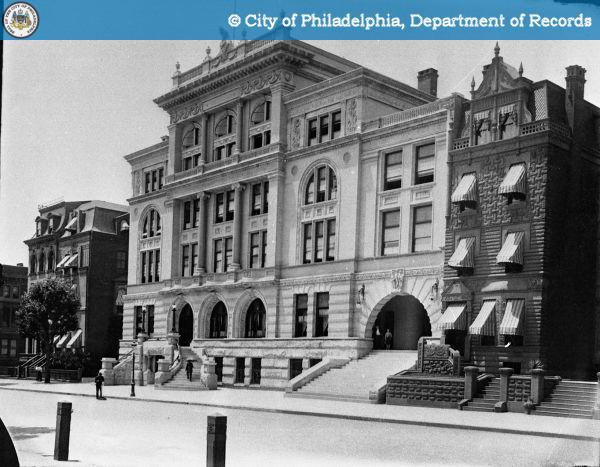 Along With Hotels Private Clubs Were Key Fixtures Of North Broad Street Social Life Since Many Residents Excluded From Older