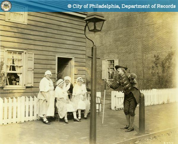 Recreating the Philadelphia of 1776