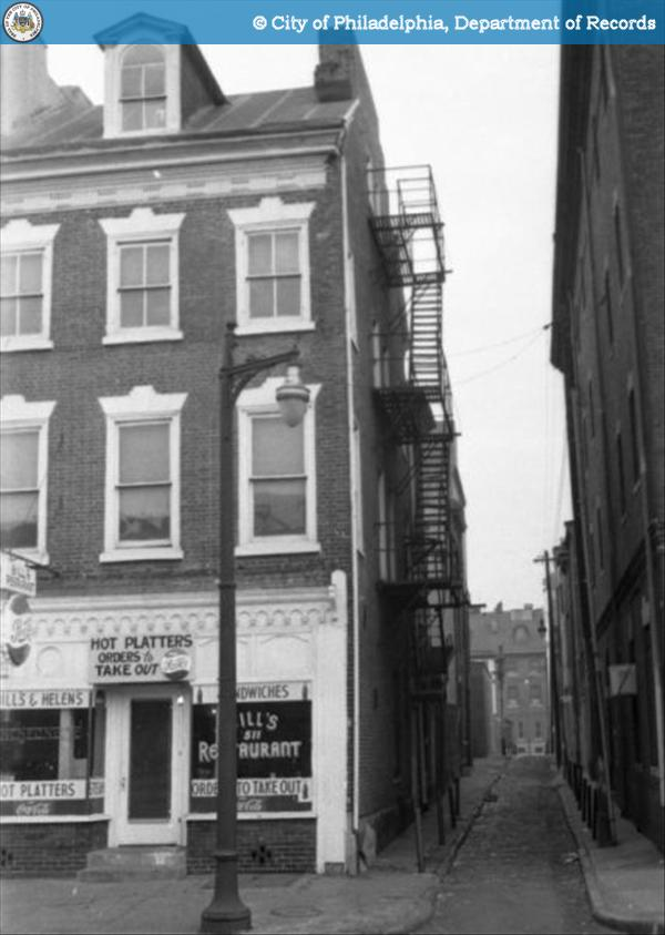 509 South Second Street in 1960