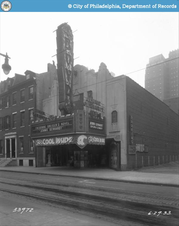 The Boyd Theater in 1933