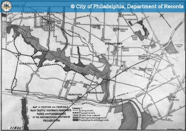 Phila Traffic Map.Phillyhistory Detail View